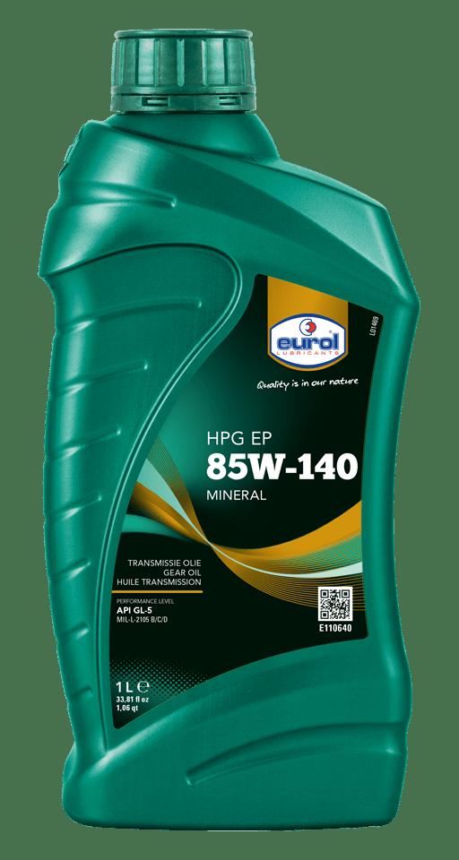 Eurol HPG EP 85W-140 GL5 1L Арт. E110640-1L