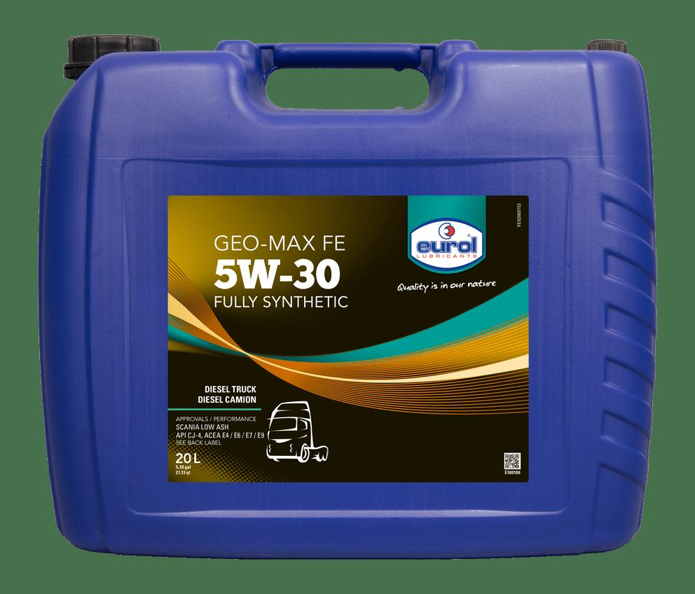 Eurol Geo-Max FE 5W-30 20L Арт. E100109-20L