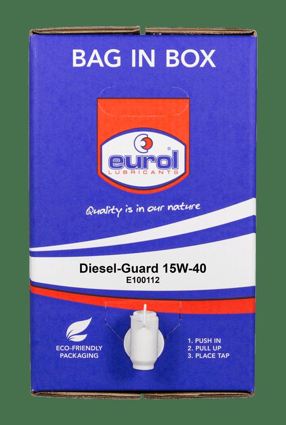 Eurol Diesel-Guard 15W-40 20L Арт. E100112-20L BIB