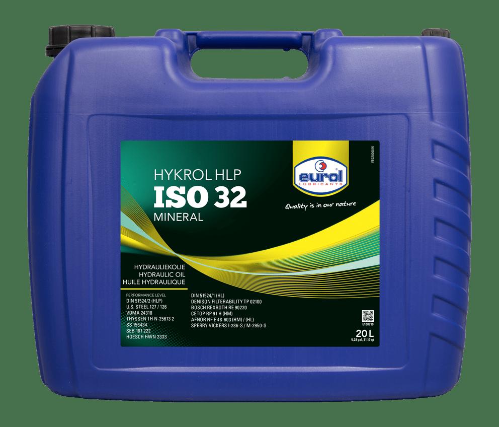 Eurol Hykrol HLP ISO 32 20L Арт. E108710-20L