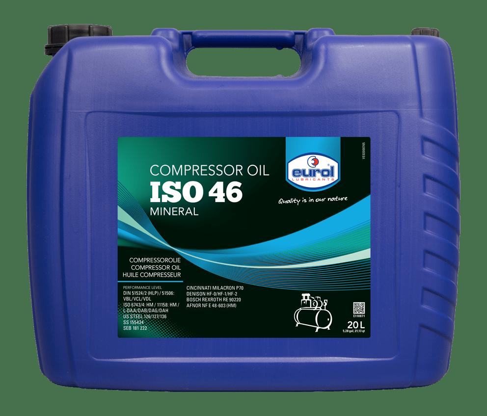 Eurol Compressor Oil 46 20L Арт. E118871-20L