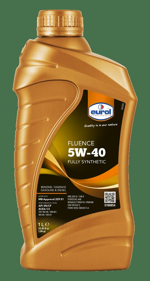 Eurol Fluence 5W-40 Арт. E100054-1L