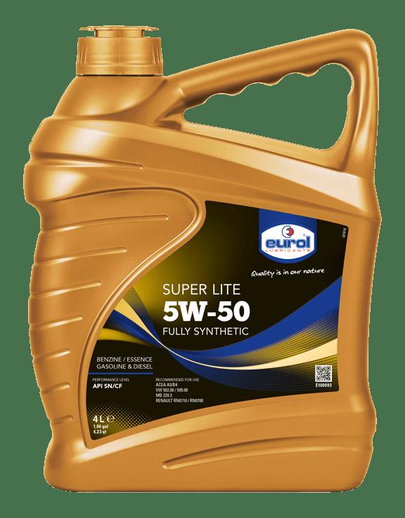 Eurol Super Lite 5W-50 Арт. E100093-4L