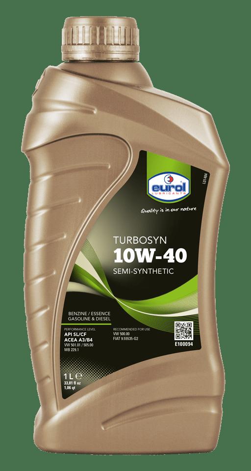 Eurol Turbosyn 10W-40 Арт. E100094-1L