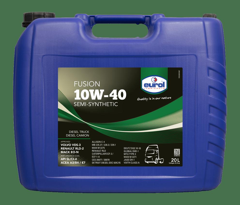 Eurol Fusion 10W-40 Арт. E100113-20L