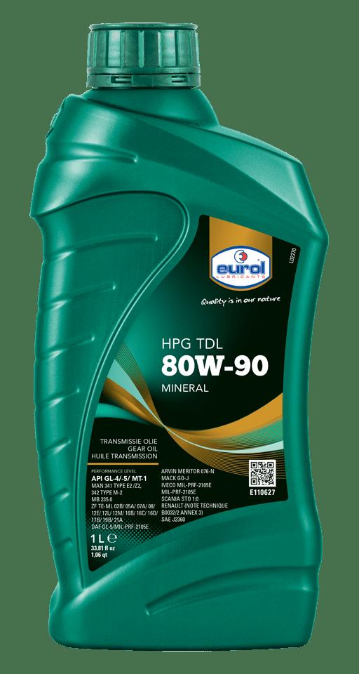 Eurol HPG 80W-90 TDL GL 4/5 Арт. E110627-1L