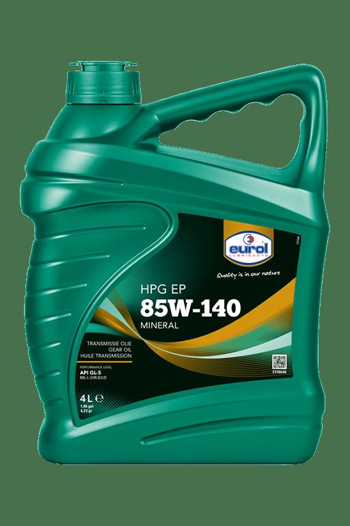Eurol HPG EP 85W-140 GL5 Арт. E110640-4L