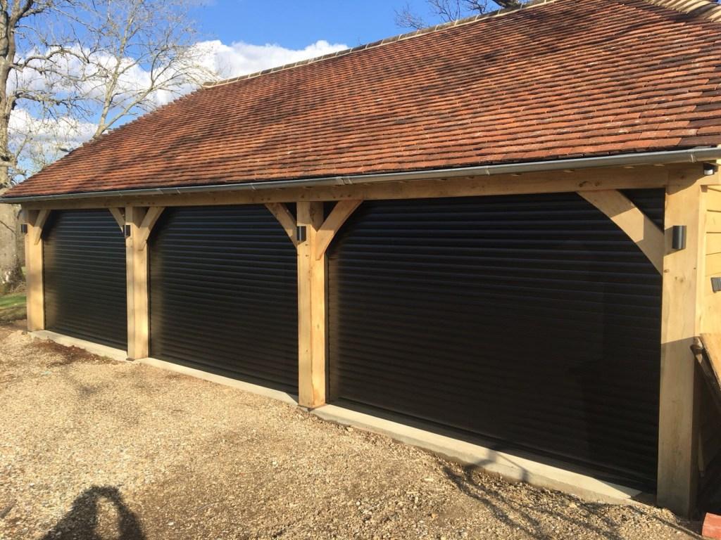 euroll UK Roller Garage Door for a Car Barn