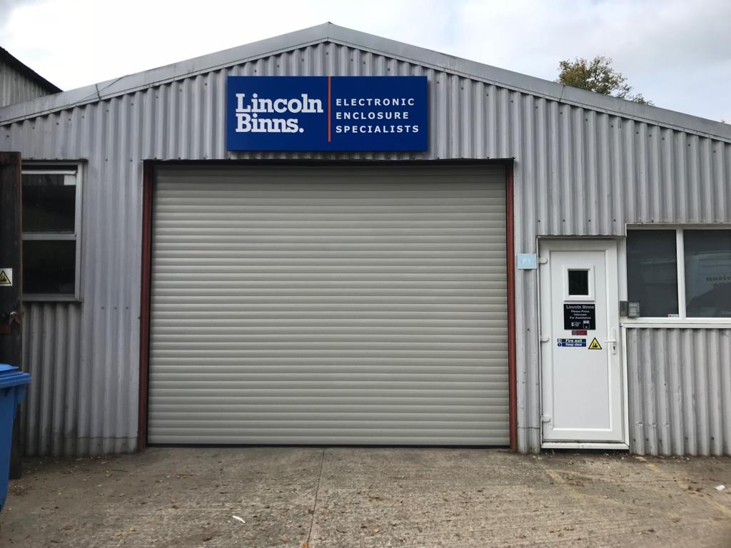 Lincoln Binns Steel Shutter by Euroll UK