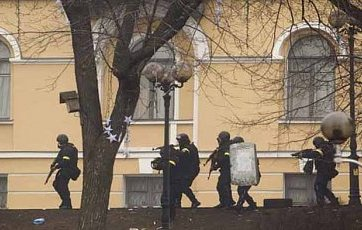 Government snipers on Euromaidan.