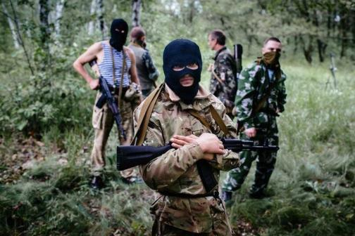 Russian mercenaries in Donbas, Ukraine