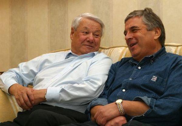 Boris Yelysin and Pavel Borodin