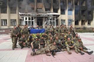 News of Ukraine | STN: ukrainische SOF-Einheiten befreien Dscherschinsk am 22. Juli 2014, Photo 3