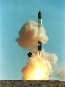 R-36 ICBM. NATO reporting name: SS-18 Satan