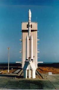VLS-1 (Portuguese: Veículo Lançador de Satélites) is the Brazilian Space Agency's main satellite launch vehicle at the Alcântara Launch Center.