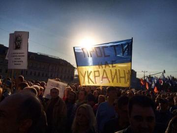 "Moscow: ""Forgive us, Ukraine"""