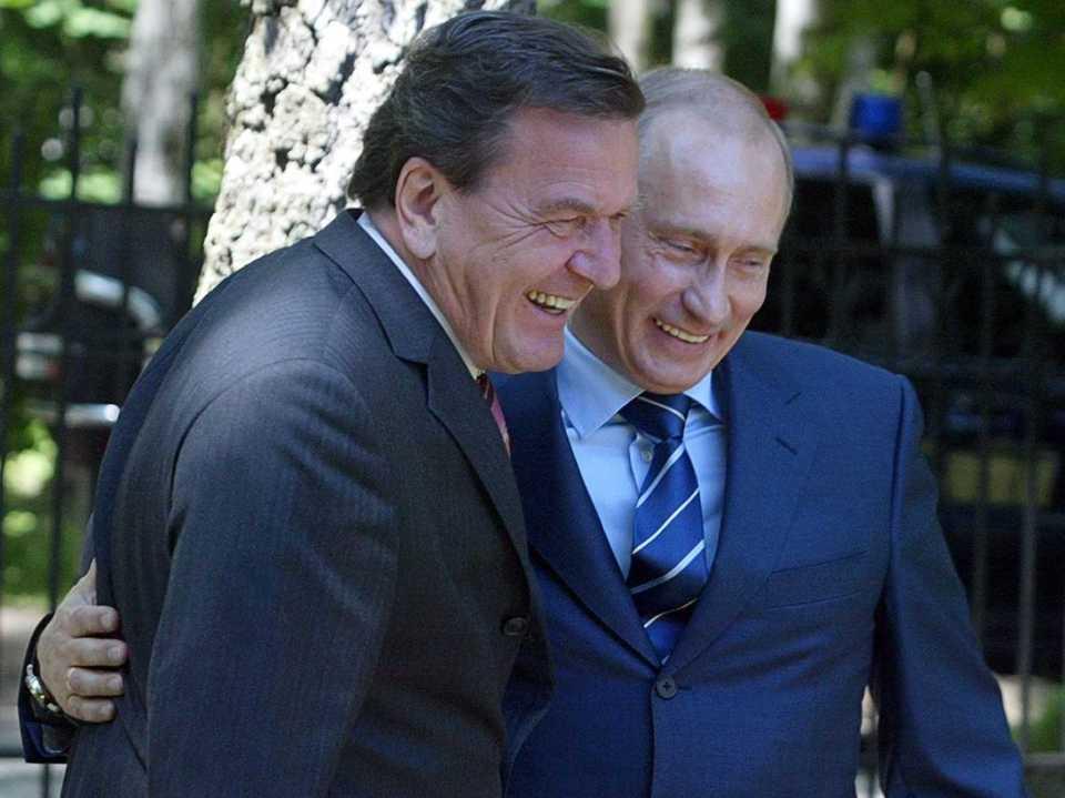 Schroeder & Putin