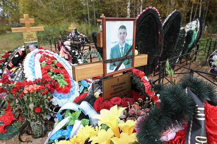 Солдатские могилы в Костроме