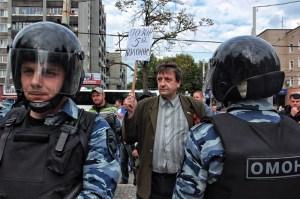"""""""Schande der fünften Kolonne"""" Foto: Roman Yhnovec"""