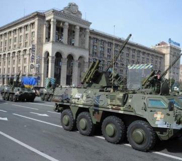 Ukraine Independence Parade 2014