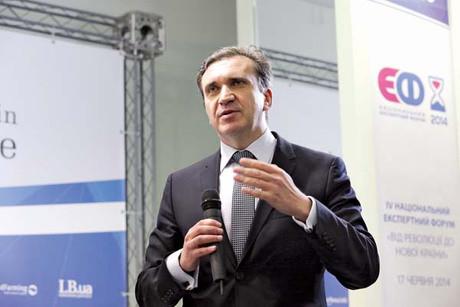 Pawlo Scheremeta beendete sein Amt  als Wirtschaftsminister am 2. September (Foto: Anastasia Wlassowa)