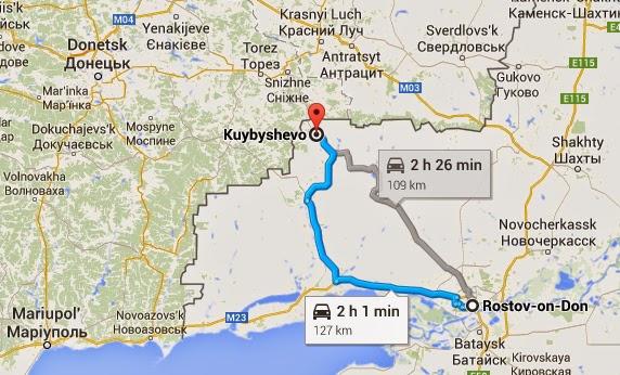 Es gibt zwei mögliche Wege, um von Rostow am Don nach Kujbyschewo zu fahren