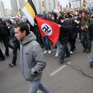 The Russian March in Moscow, Russia, November 4, 2014