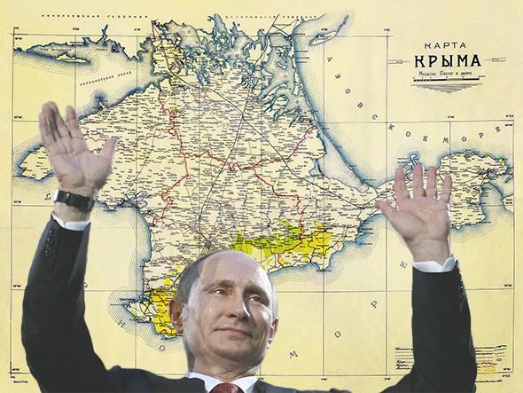 Putin and Crimea.