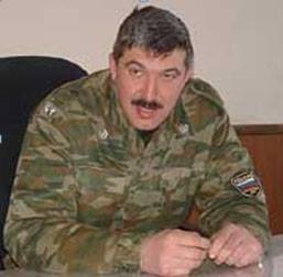 Chief of staff of the 58th army of the Southern Military District of the Russian Federation Major-General Sergey Kuzovlev
