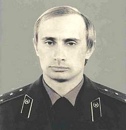 Vladimir Putin, captain of Soviet KGB (Image: kremlin.ru)