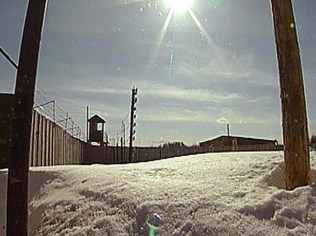 At different years this GULAG camp contained 10 to 30 thousand prisoners.