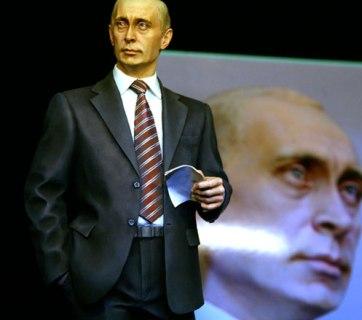A monument to Putin