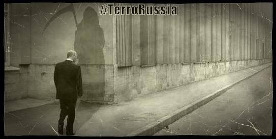 Putin terror #TerroRussia