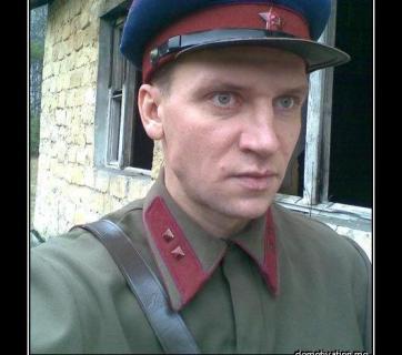 """NKVD officer: """"Hello, dear enemies of the people!"""""""