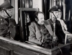 Erich Koch on trial for war crimes