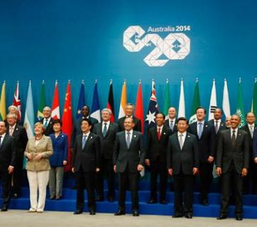Putin was shunned at the 2014 G20 meeting in Australia after the Crimea Anschluss by Russia.