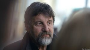 Russian artist Leonid Yarmolnik