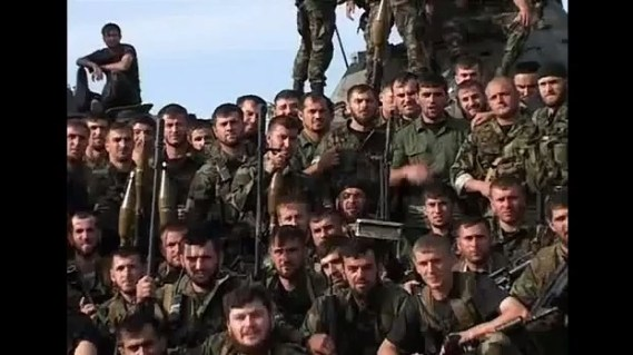 Russian special forces from Chechnya (Image: joinfo.ua)
