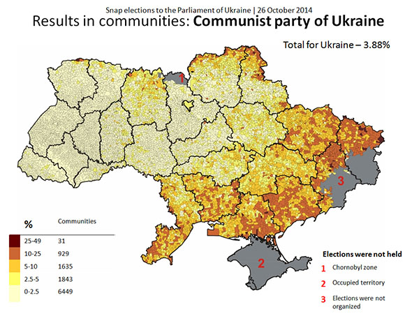 The New Political Landscape Of Ukraine Euromaidan Press - 2015-us-election-results-map