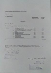 Examination: 168.60 euros
