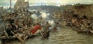 The Conquest of Siberia by Yermak by Vasilily Surikov, 1895 (Image: Wikimedia)