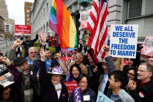 A pro-marriage equality LGBT demonstration in the US (Image: Hack and Tor World)