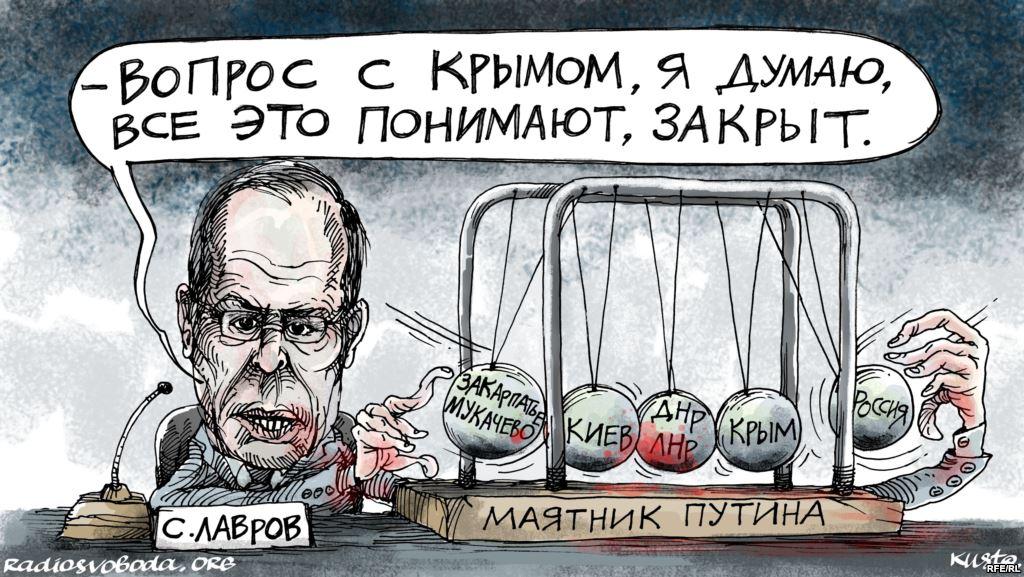 """""""Putin's pendulum"""" by Oleksiy Kustovskyi"""
