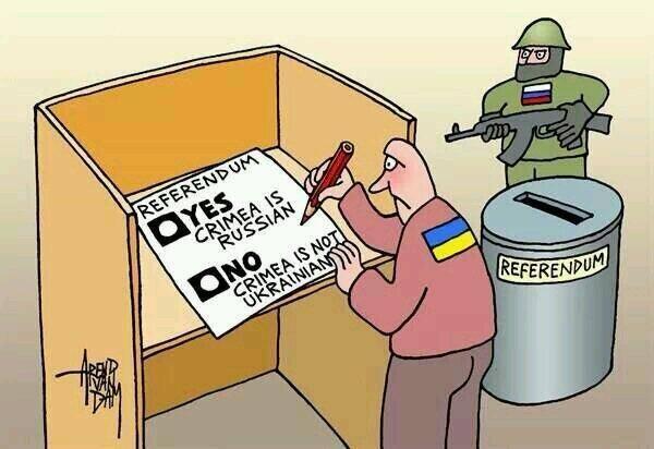 Crimea referendum cartoon