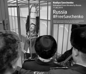 Nadiya Savchenko - Kidnapped from Ukraine by Russia 17.06.2014