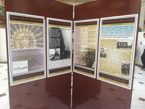 Holodomor Memorial Exhibit at Union Station (source: @24tvua, Roma Lisovich)