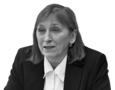 Irina Bekeshkina, Ukrainian sociologist, head of the Democratic Initiatives Fund