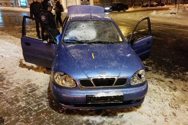 car Kravtsov Berkut Ukraine