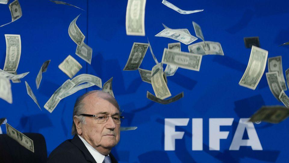 Sepp Blatter FIFA money