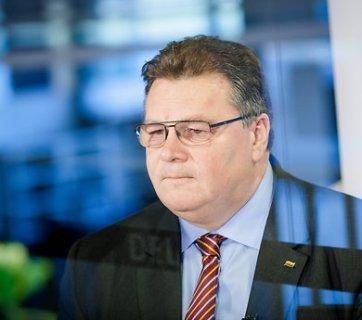 Linas Linkevičius (Image: DELFI/Š.Mažeikos)
